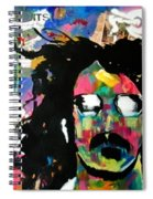 Frank Zappa Pop Art Spiral Notebook