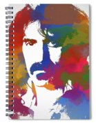 Frank Zappa Watercolor Spiral Notebook