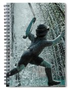Frankenmuth Fountain Boy Spiral Notebook