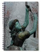 Frankenmuth Fountain Girl Spiral Notebook