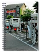 Frankenmuth Michigan Carriages At The Mill Spiral Notebook