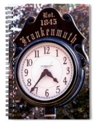 Frankenmuth Time Spiral Notebook
