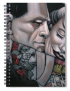 Frankenstein And Wife  Spiral Notebook