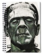 Frankenstein Portrait Spiral Notebook