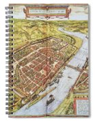 Frankfurt, Germany, 1572 Spiral Notebook