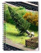 Frankfurt Hbf Spiral Notebook
