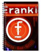 Frankie's Fort Worth Spiral Notebook
