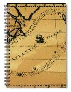 Franklin Chart, 1786 Spiral Notebook