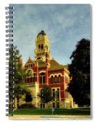 Franklin County Courthouse - Hampton Iowa Spiral Notebook