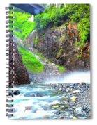 Franklin Falls Spiral Notebook