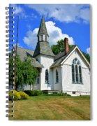 Franklin Square Church Vertical Spiral Notebook