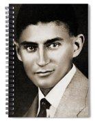 Franz Kafka Spiral Notebook