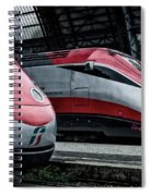 Freccia Rossa Trains. Spiral Notebook