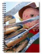 Freddys Fingers Spiral Notebook
