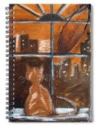 Fredrick's Window Spiral Notebook