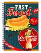 Free Drinks Spiral Notebook