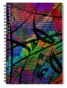 Free Fall Spiral Notebook