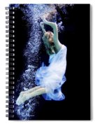 Free Fall Spiral Notebook