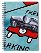 Free Parking Spiral Notebook
