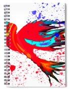 Free To Soar Higher Spiral Notebook