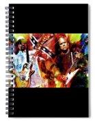 Freebird Lynyrd Skynyrd Spiral Notebook
