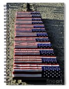Freedom Costs Spiral Notebook