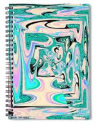 Freedom Fall Spiral Notebook