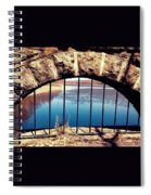 Freedom Is Breaking Down The Walls Spiral Notebook