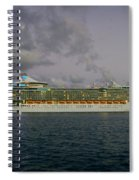 Freedom Of The Seas Spiral Notebook
