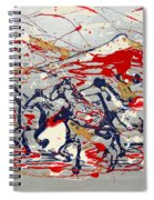 Freedom On The Range Spiral Notebook