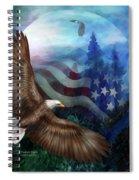 Freedom's Flight Spiral Notebook