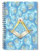 Freemason Symbolism Spiral Notebook