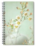 Freesia Blossom Spiral Notebook