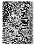 Freestyle 3 Abstract Spiral Notebook