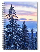 Freezing Sunset 14 Spiral Notebook