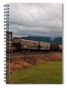 Freight Rain Spiral Notebook