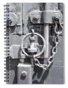 Freight Wagon Latch II Spiral Notebook