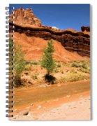 Fremont River Castle Spiral Notebook