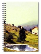 French Alps 1955 Spiral Notebook