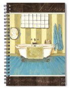 French Bath 2 Spiral Notebook