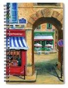 French Butcher Shop Spiral Notebook