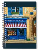 French Cheese Shop Spiral Notebook