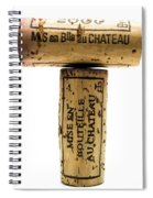 French Corks Spiral Notebook