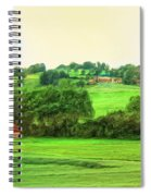 French Countryside Spiral Notebook