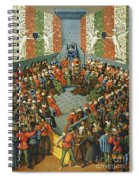 French Court, 1458 Spiral Notebook