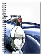 French Curves Spiral Notebook