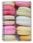 French Delicious Dessert Macaroons Spiral Notebook
