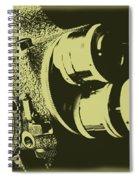 French Emel Shady Moss Spiral Notebook