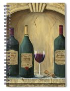 French Estate Wine Collection Spiral Notebook