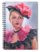 French Girl Spiral Notebook